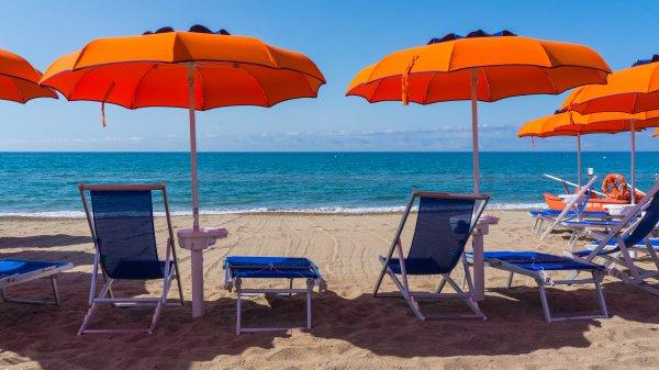 Spiaggia convenzionata vicino al Piccolo Hotel